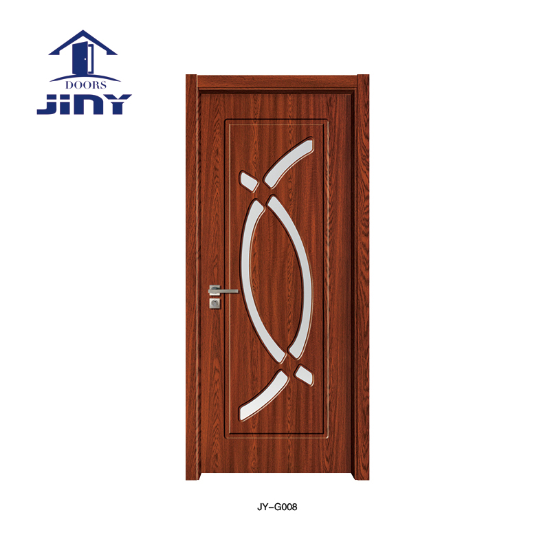 Modern Glass Wood Door