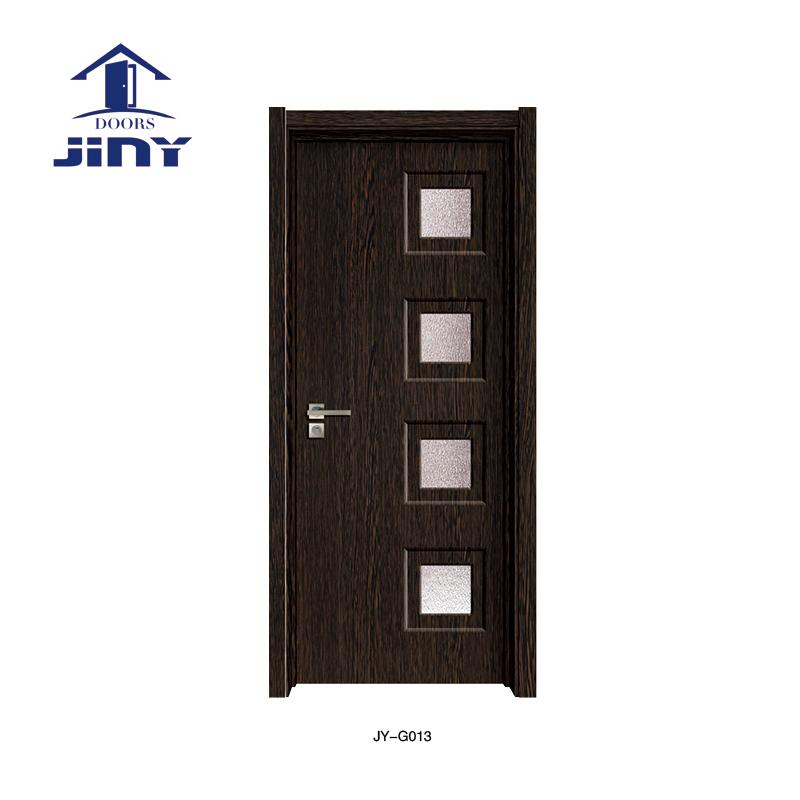 Interior Wood Door with Glass